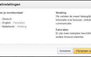 Amazon de in het Nederlands