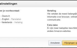 Amazon de in het Nederlands