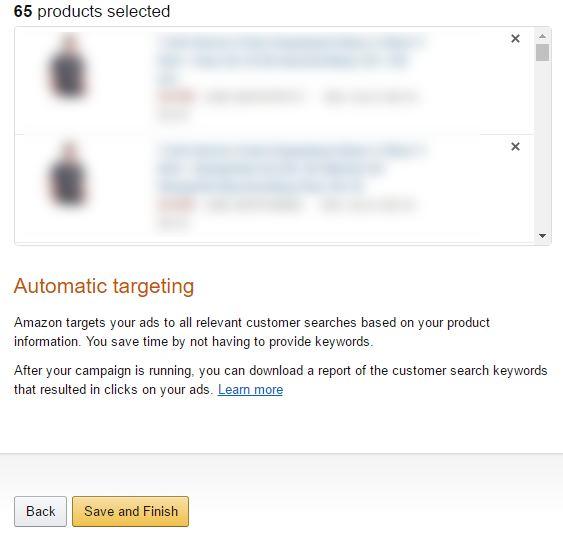 Adverteren op Amazon - Campagne aanmaken