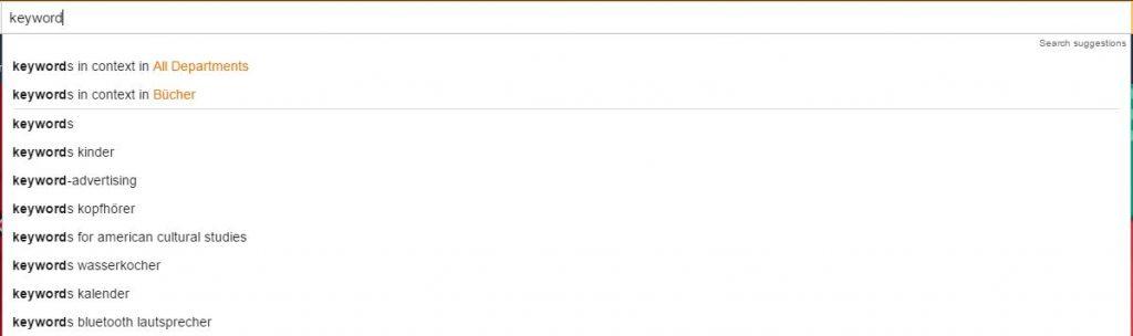 Amazon keywordonderzoek - Amazon Keywords vinden - Amazon Expert