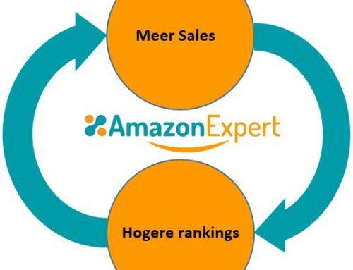 Hoger in Amazon komen