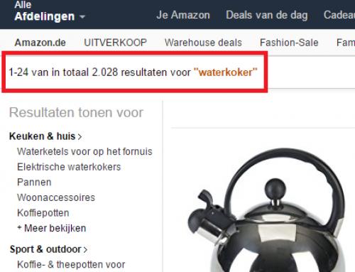 Het probleem dat alle nieuwe producten op Amazon hebben