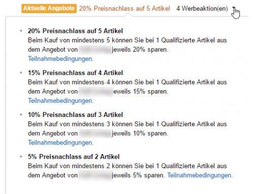 Amazon promotie mogelijkheden | Amazon Promotion Messages aanmaken