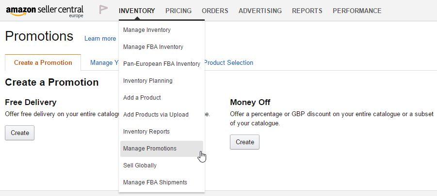 Promoties op Amazon aanmaken - Promotion messages - Amazon expert